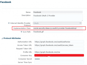 Facebook Internet Identity Provider