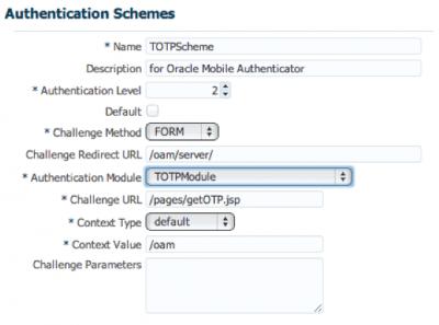 Authentication Scheme