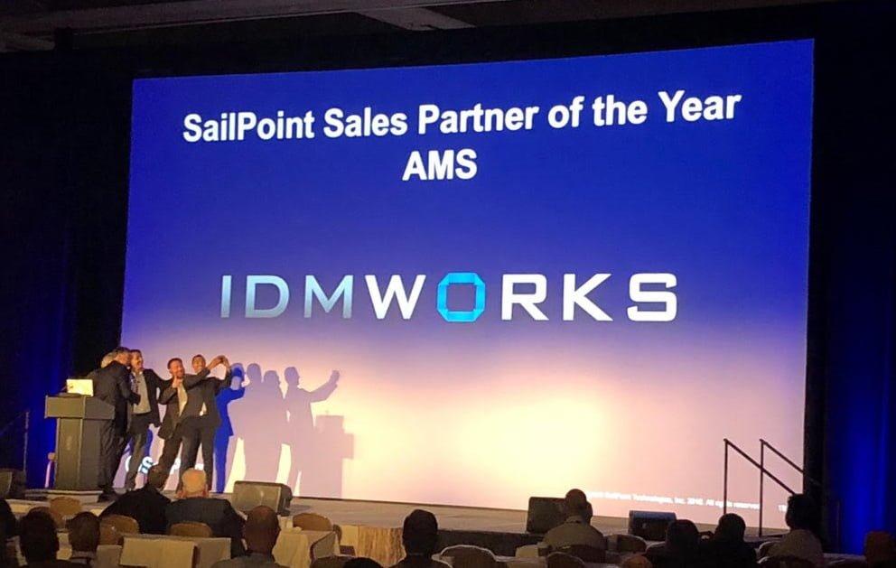 SailPoint Awards IDMWORKS Sales Partner Of The Year