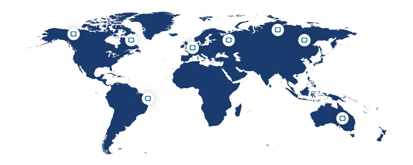 IDM World Map